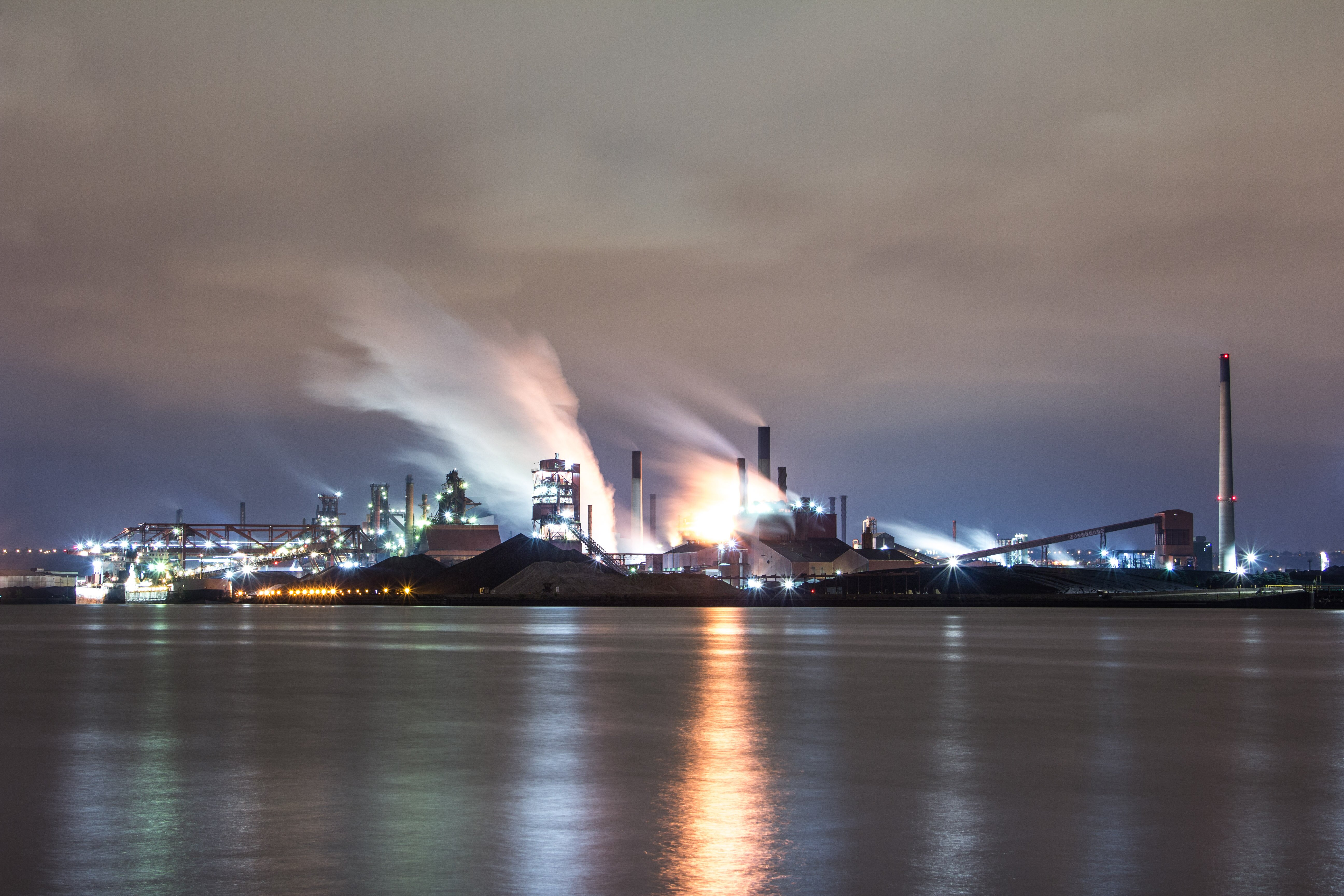 Dofasco south from eastport drive. Copyright EricO'Reilly